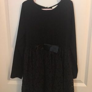 Other - Girls Tween Black Party Lace Dress Bow 13